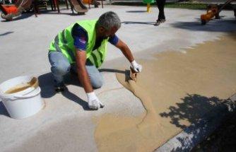 Bayraklı'da parklar artık daha güvenli