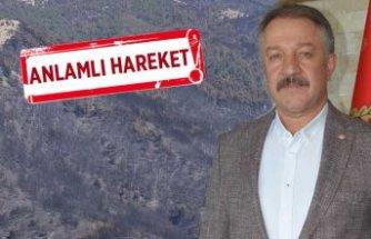 İzmir Emniyeti, yanan alanları 14 bin personeliyle yeşillendirecek