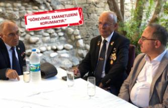 AK Parti Sürekli'den gazilerle anlamlı buluşma
