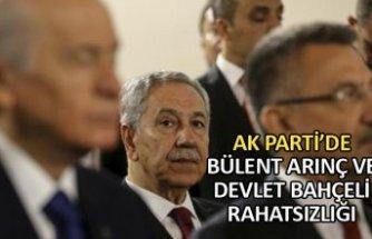 AK Parti'de Bülent Arınç ve Devlet Bahçeli rahatsızlığı