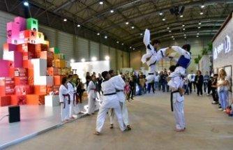Bornovalı sporcular alkış topladı