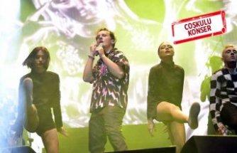 Çim konserlerinde Edis rüzgarı