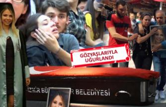 Ege Üniversitesi Sezen'e ağladı