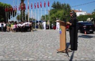 Gaziler Günü töreninde 'başörtüsü gerilimi'