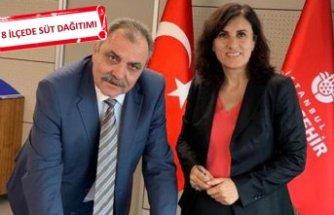 İstanbul'daki çocukların sütü İzmir'den gidecek