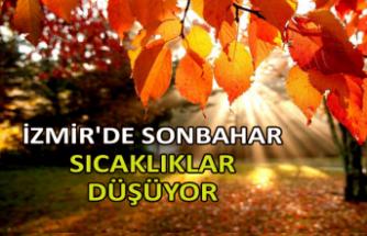 İzmir'de sıcaklıklar düşüyor