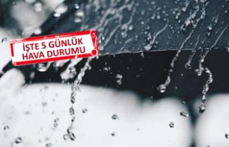 İzmirli dikkat: Yağmur geliyor