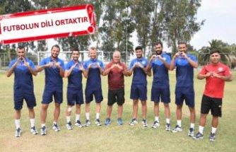 İzmirspor futbolda engel tanımadı
