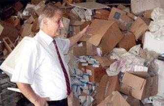 KKTC'de 90 kamyon ilaç depoda unutuldu!