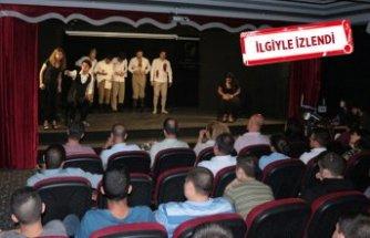 'Kuvayı Milliye Destanı' çocuk mahkumlar için sahnelendi