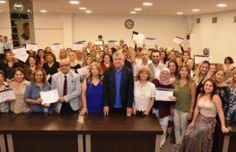 Narlıdereli kadınların sertifika heyecanı