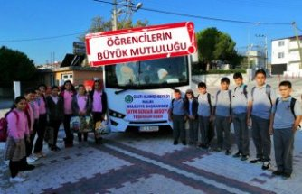 Okulla gidemiyorlardı: Belediyeden servis tahsisi
