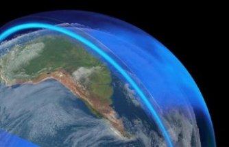 Ozon tabakasındaki delik küçülüyor
