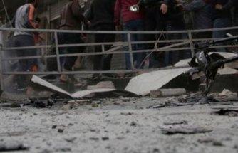Suriye-Türkiye sınırındaki Çobanbey'de bombalı terör saldırısı