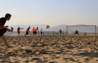 TFF Plaj Futbolu Ligi Efes Selçuk etabı sona erdi