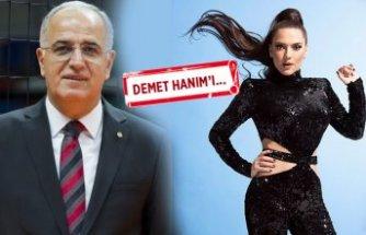 TVF Başkanı'ndan Demet Akalın'a cevap!