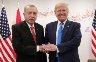 ABD Başkanı Trump: Erdoğan ile görüştüm