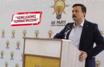 AK Partili Dağ'dan Barış Pınarı için kararlılık mesajı