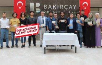 Barış Pınarı'na katılan mehmetçiklere, öğrencilerden mektuplu destek