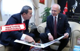 Batur'dan Kılıçdaroğlu'na sürpriz ziyaret