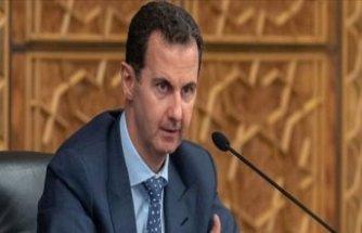 Beşar Esad Rus heyeti ile görüştü
