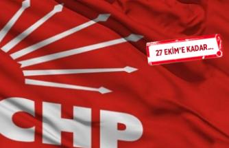 CHP'de üye listeleri askıya çıktı