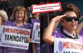 Cumhuriyet Kadınları Derneği'nden Mehmetçiğe destek