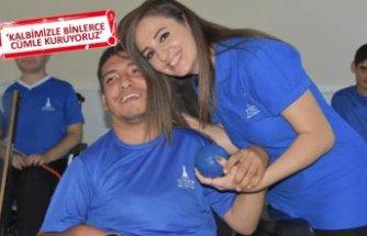 Engelli kardeşi için hayallerinden vazgeçti, antrenör oldu