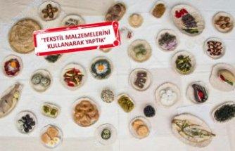 İzmir'in lezzetleri sanat eserine dönüştü