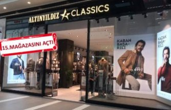 İzmir'de 'yeni konsept' mağaza
