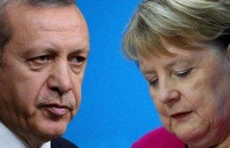 Merkel'in skandal çağrısına, Erdoğan'dan sert tepki