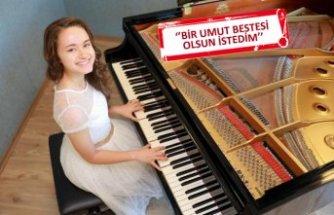 Ödüllü çocuk piyanist, çocuklar ve gençler için besteledi