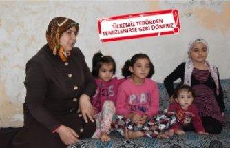 Suriyeli mülteciler Barış Pınarı Herakatı'na destek verdi