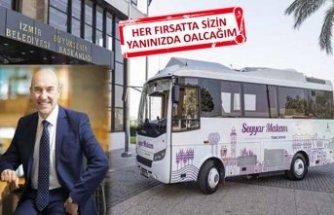 "Tunç Soyer'den ""gezici makam"" minibüsü"