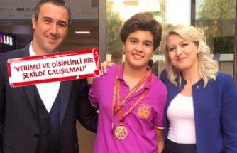 Uğurlu öğrenciden eskrimde iki Türkiye derecesi