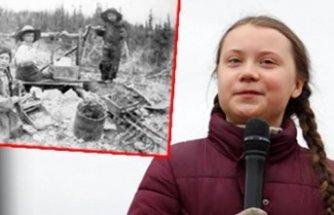 121 yıllık kare sosyal medyayı birbirine kattı: Greta bir zaman yolcusu