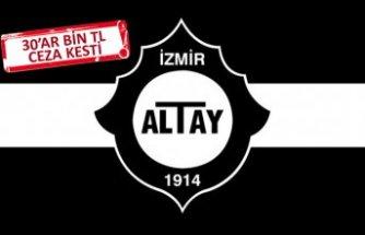 Altay'da yönetim faturayı kesti