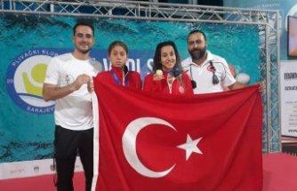 Altın kız Şevval'e Bosna'da 3 madalya