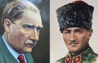 ''Atatürk Karma Resim Sergisi''