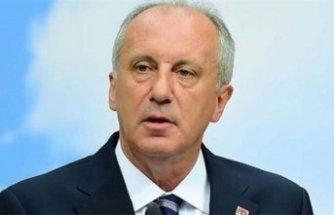 İnce'den 'Saray'a çıkan CHP'li' yorumu: Derhal…