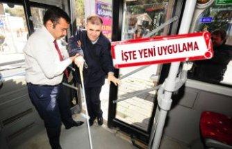İzmir'de engelliler artık daha rahat seyahat edebilecek