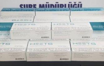 İzmir'de kaçak tütün mamulü operasyonu