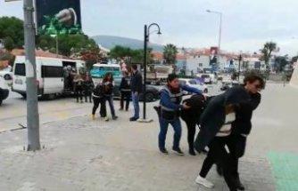İzmir'de masaj salonuna fuhuş baskını