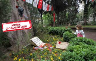 Karşıyaka'da En güzel mektuplar Zübeyde Anne'ye