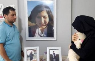 Rabia Naz'ın annesi 40 günlük bebeğiyle tepki gösterdi