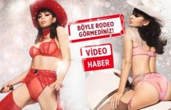 Rodeo temalı seksi tanıtım!