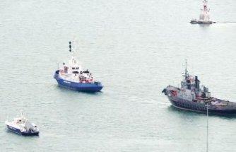Rusya üç gemiyi Ukrayna'ya iade etti