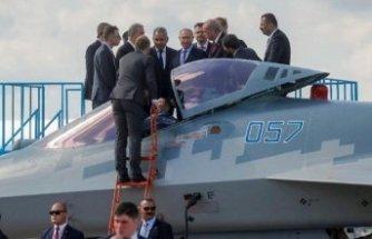 Rusya'dan Erdoğan'ın yakından incelediği uçakla ilgili kritik açıklama