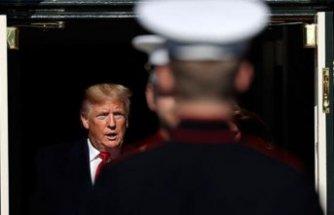 Trump'tan tepki çeken hareket...