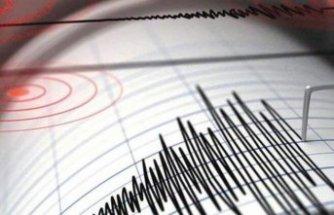 Türkiye sınırında peş peşe iki deprem